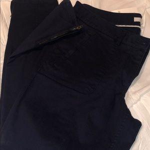 Loft Navy Blue pants NWT